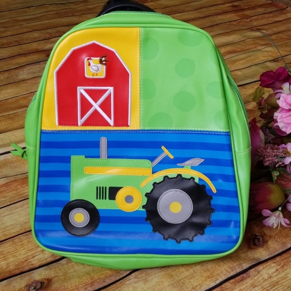 Boys Farm Tractor Backpack, Stephen Joseph,